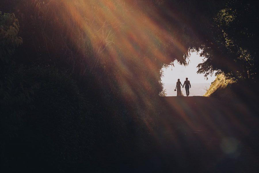 Rad Sunflare Country wedding photo