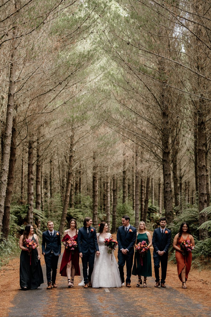 Forest Winter Wedding Rotorua