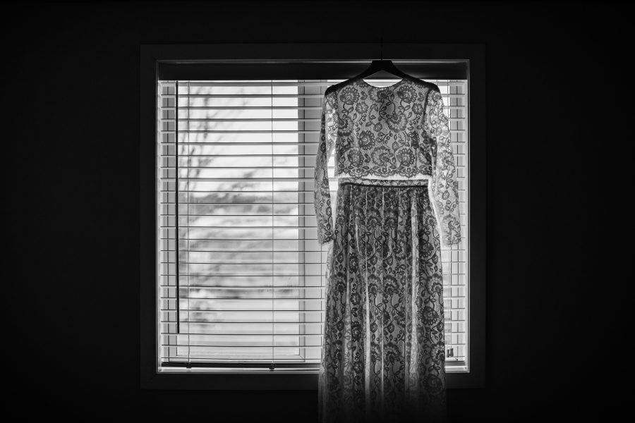 Boho Lace dress Austrailian bride