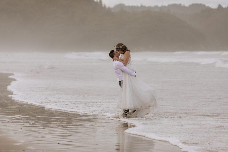 Waihi Beach Wedding