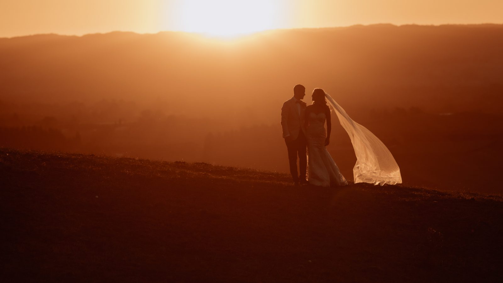 Tauranga bridal couple