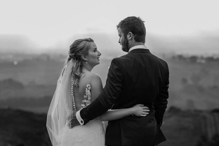 Special moment between Jodi and Nick Tauranga wedding photographer Pure Images Rochelle Withell