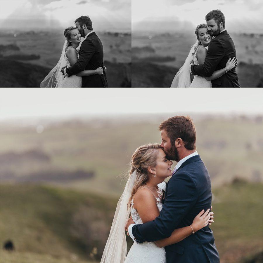 Te Puke couple on their wedding day
