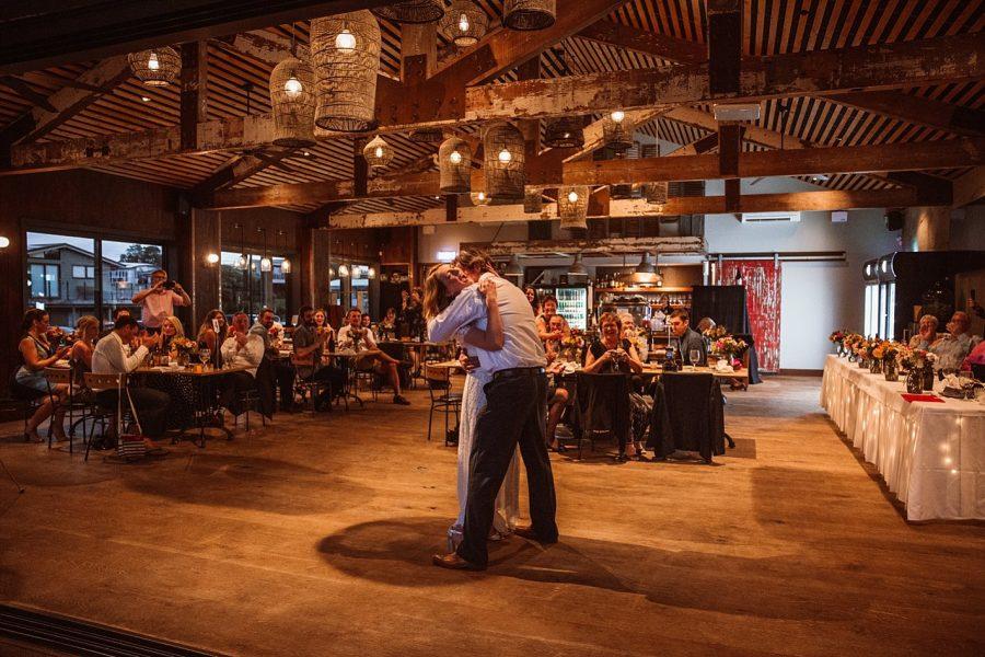 Reception Wedding Venue Flat white cafe dancing
