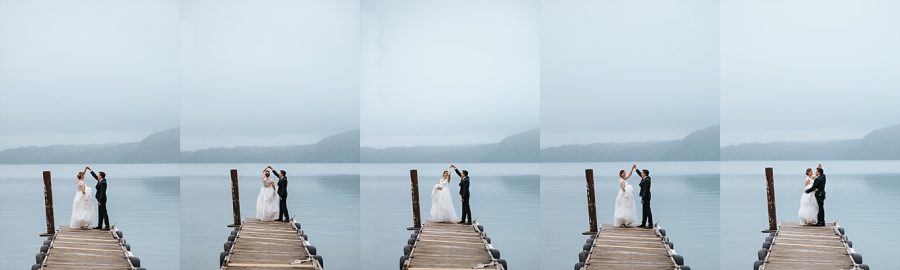 Lake Okataina Lodge wedding
