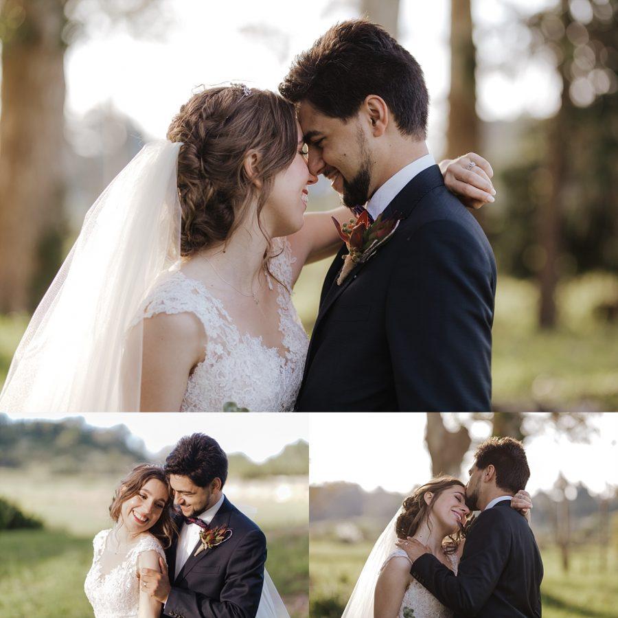 Real moments of wedding couple Bethlehem