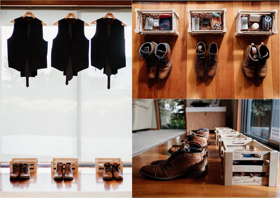 Groom and Groomsmen's attire