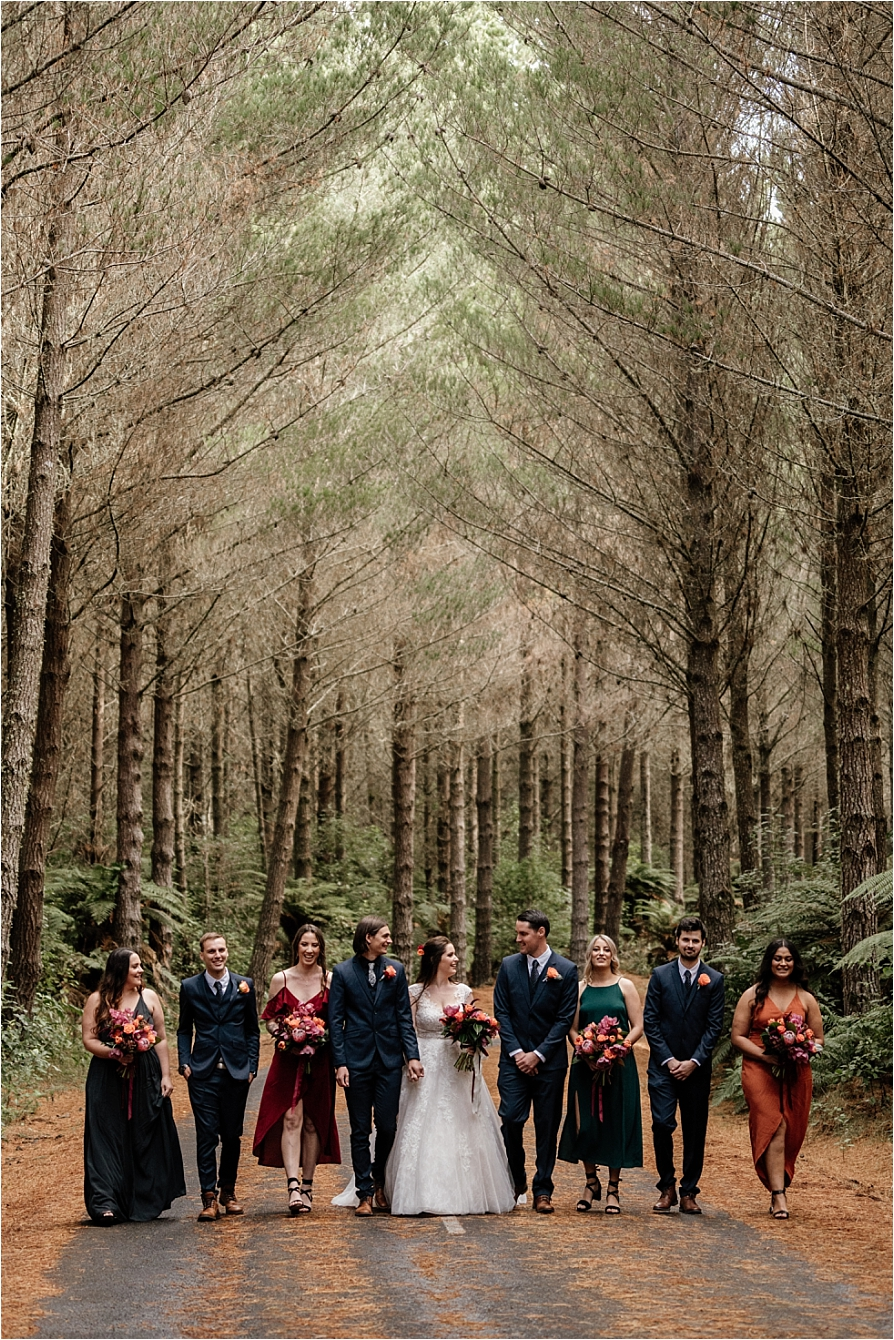 Wedding party country autumn Winter vibes