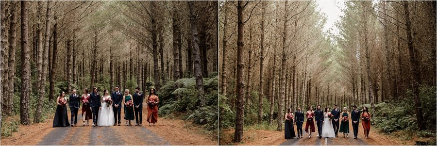 Autumn Winter colors Tauranga Wedding with Pure Images Photography