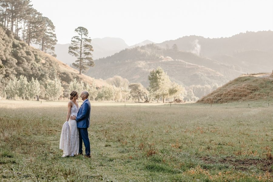 Whangamata Coromandel Farm wedding by Rochelle Withell