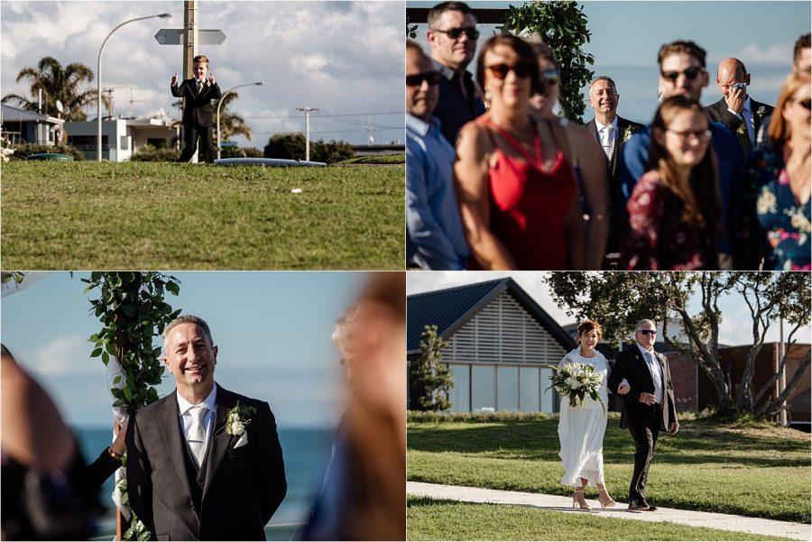 Wedding ceremony Hart Street Mount Maunganui