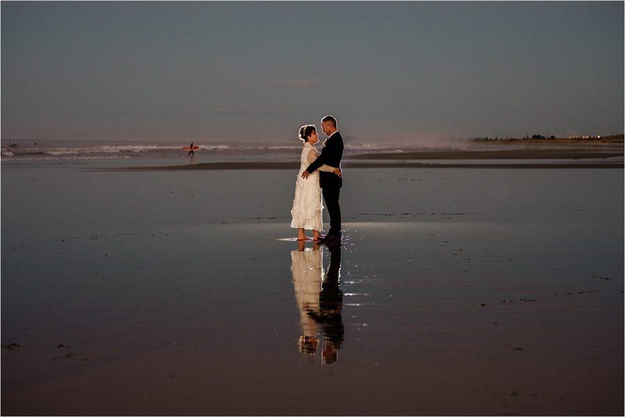Evening wedding image by Bluebiyou venue
