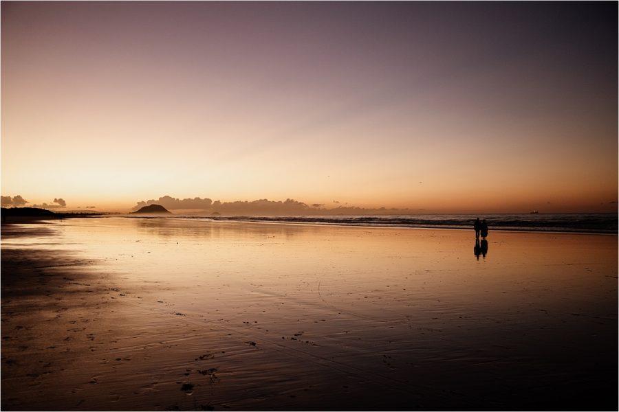 Sunset hour Papamoa Beach by Bluebiyou Wedding Venue