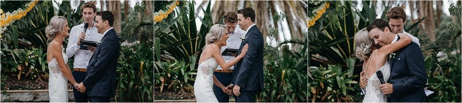 Candid moments Whitianga Wedding Salt Bar