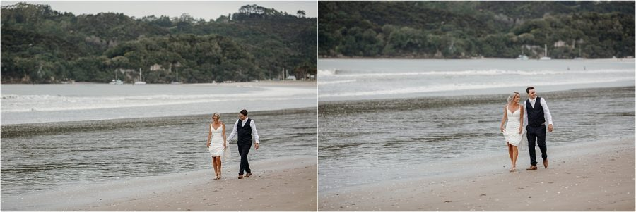 Buffalo Beach Wedding at Whitianga