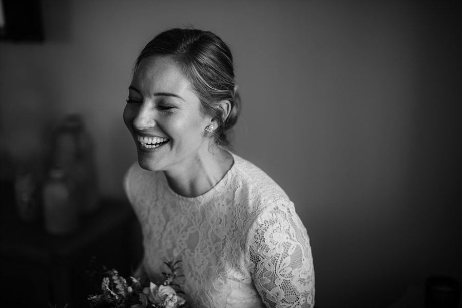 boho happy bride