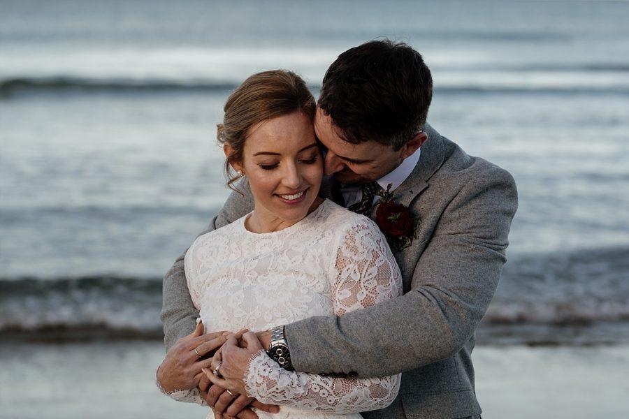 Cuddly by the sea Waihi Wedding