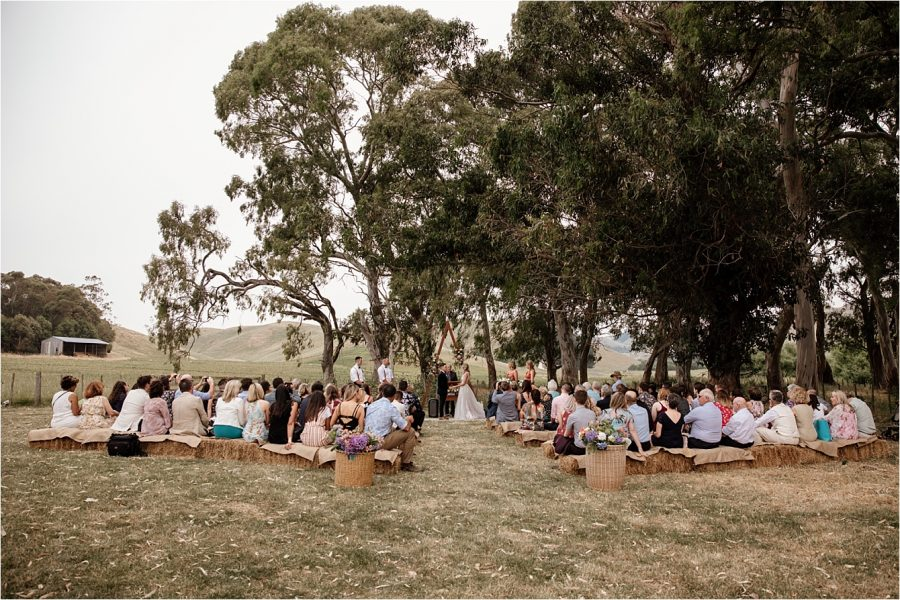 Waiterenui Wedding Ceremony