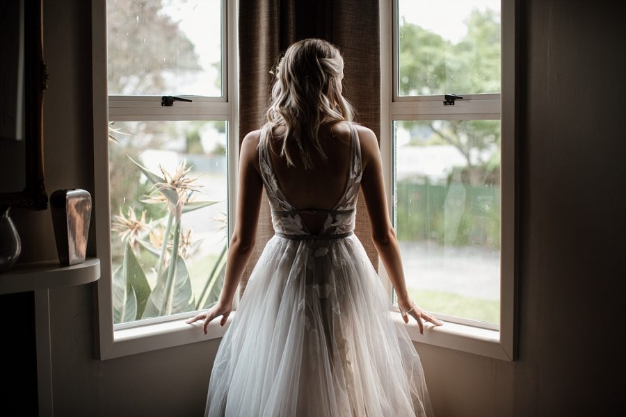 Window rustic vibe bride