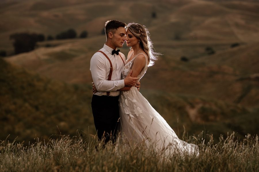 Hawkes Bay bride and groom photos