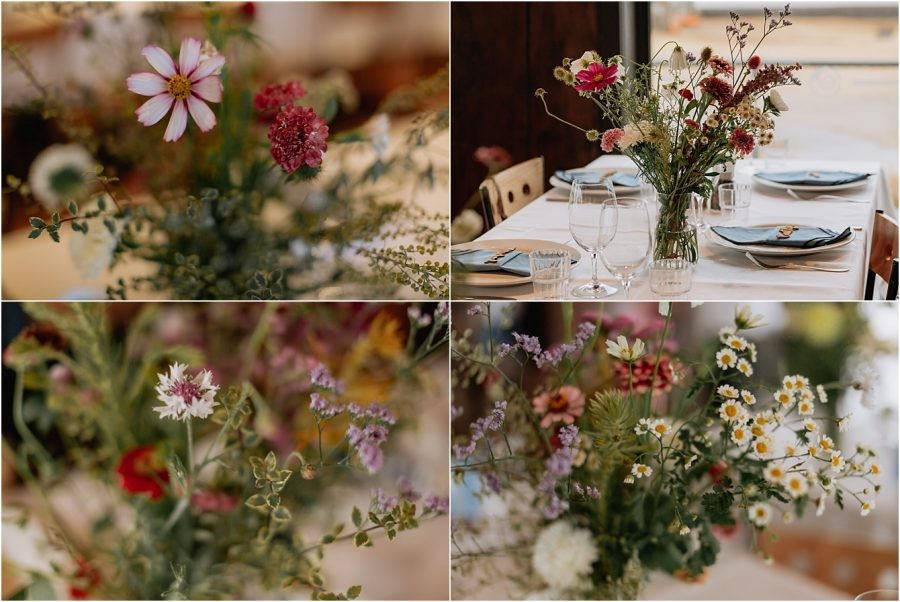 Wedding table Floral arrangements