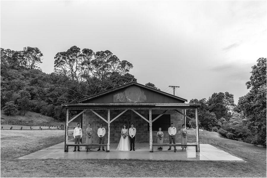 Raining on wedding day shelter