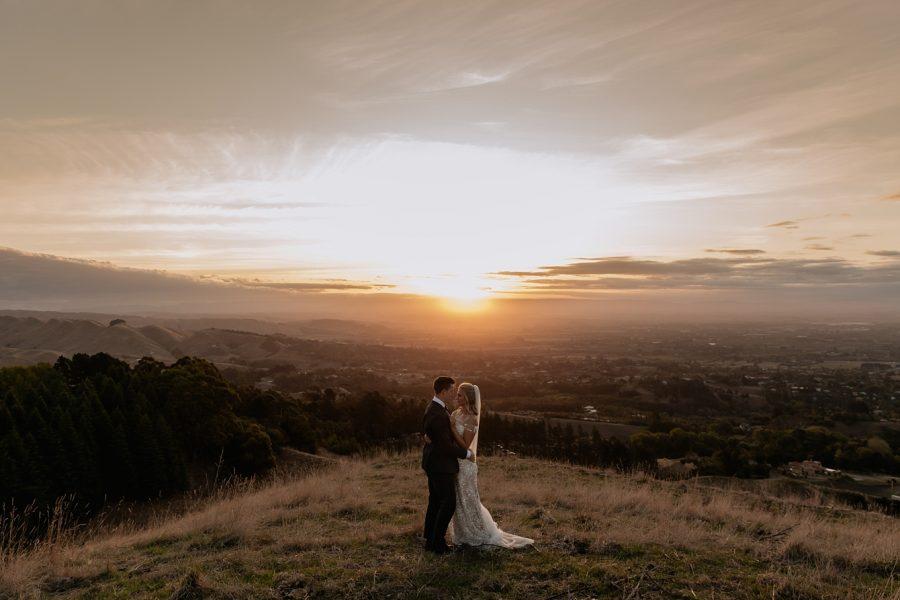 Te Mata peak sunset views