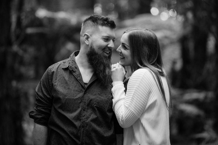 Happy moment between couple