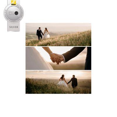 Silver 2019 Iris Award In Camera Wedding Category