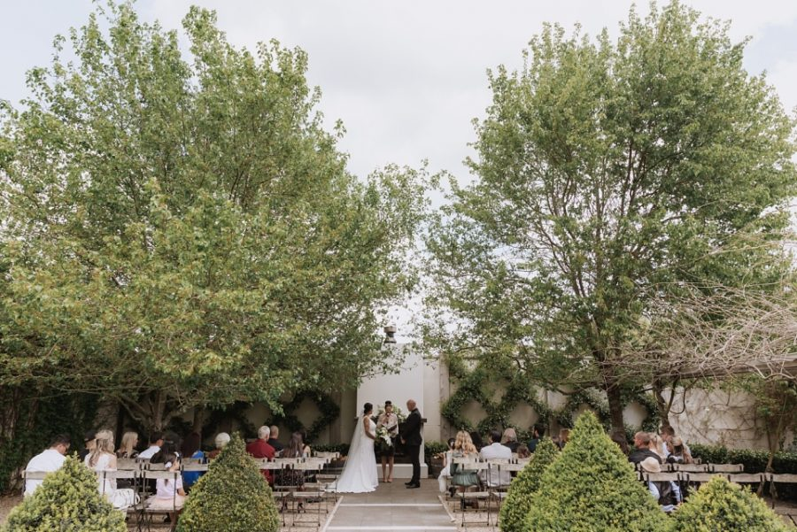 Ataahua Garden Wedding Ceremony