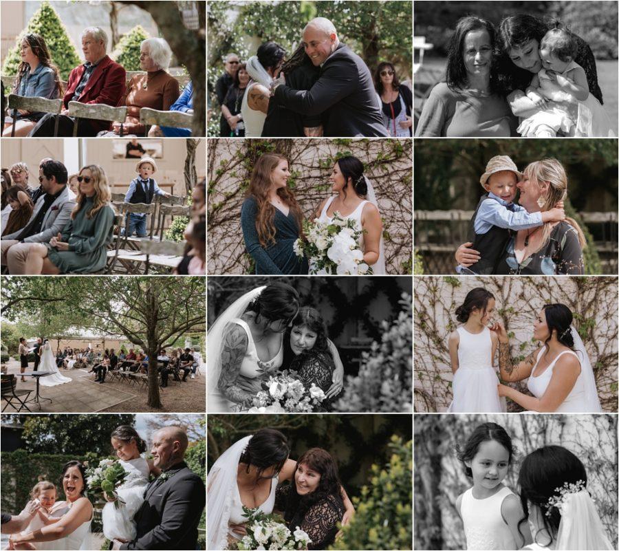 Happy candid wedding moments at Tauranga Ataahua
