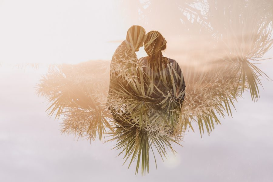 Photographer Rochelle Withell creative double exposure