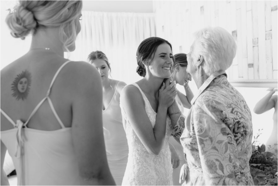 Embrace Grandmother and Bride
