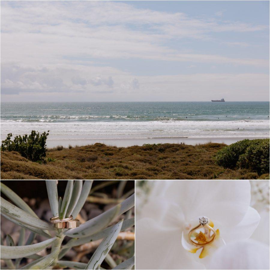 Mount Maunganui Beach, Wedding and engagement rings