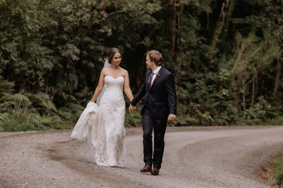 Wedding photos on number two road