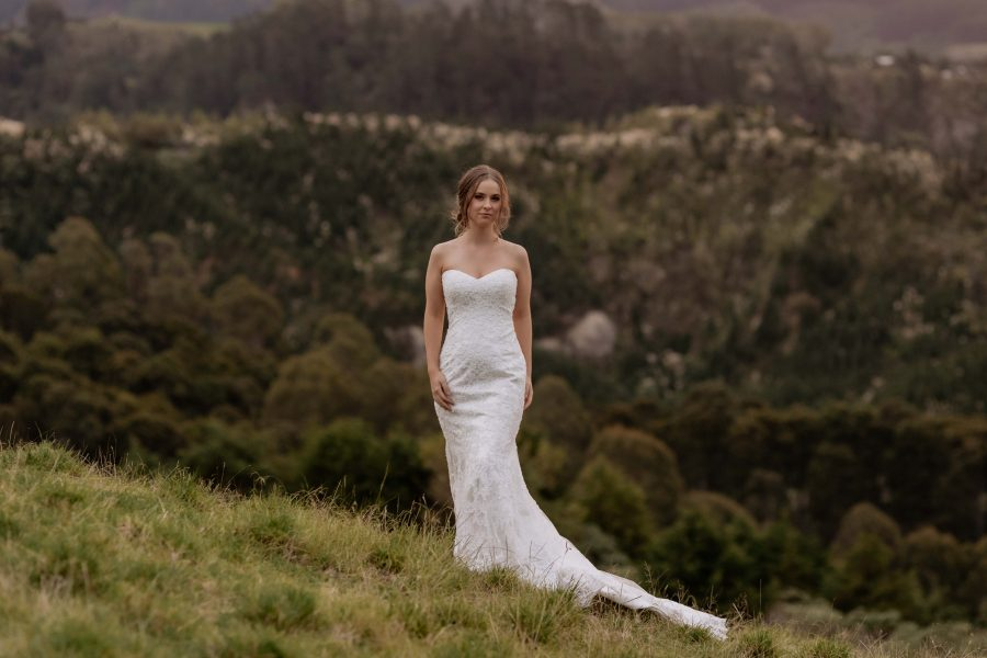 Bride in the country