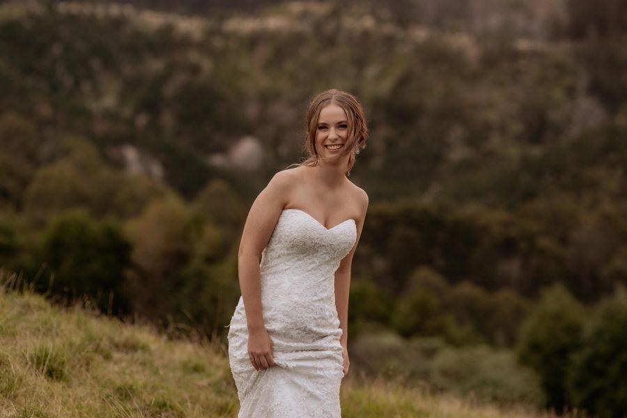 smiling bridal natural shots