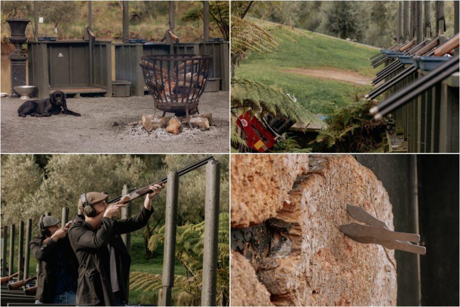 Clay Shooting at Bracu Estate